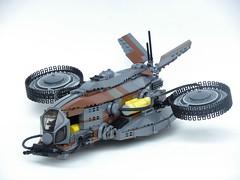 Talon Scout Ship (Josiah N.) Tags: lego spaceship dropship scout