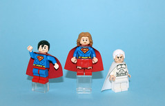Red, White, and Blue (Kaiju Dan) Tags: superman supergirl jorel legosuperman legobatman legosupergirl legojorel