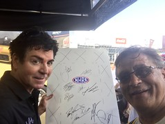 With, Papa John, Papa John's Pizza, 2017, NHRA, Nationals, at, Route 66, drag way, 7/8/2017, with my son, Freddie, and my son in law, Dimitri, Fred Weichmann, (Picture Proof Autographs) Tags: with papajohn papajohnspizza 2017 nhra nationals route66 dragway 782017 withmyson freddie andmysoninlaw dimitri fredweichmann nhranationals2017route66dragstripdragwaydragsterddragsterstopfuelfunnycarprostockhotwheelstommcewinnmongoosepapajohnspapajohnspizza picture pictures photo fan fans celebirties fred weichmann frederick
