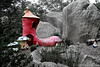 """""""There was an old woman...."""" (misty1925) Tags: shoe anakie fairypark nurseryrhyme victoria australia red"""