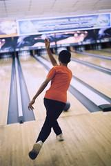 ten pins alley (mohamedyamin_masop) Tags: leicam3 film indoor sports bowling leisure recreation
