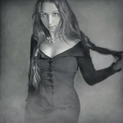 My seductive vampire look 😜 (soleá) Tags: smoke smoking soleá carmengonzález carmen