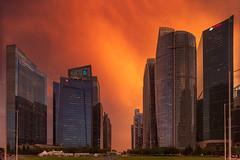 Burning Desire (bing dun (nitewalk)) Tags: singapore cityscape sunset epic marinabay laowa 12mm shift kipon