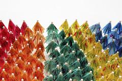 - Dream out loud - (Jacqueline ter Haar) Tags: wemakecarpets stedelijkmuseumamsterdam cocktailparaplus umbrella carpet ontwerpers marcianolte stijnvandervleuten bobwaardenburg colourful kleurrijk museum roomontheroof