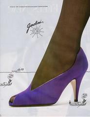 Garolini 1987 (barbiescanner) Tags: vintage retro fashion vintagefashion vintageads 80s 1980s 80sfashion 1980sfashion gasoline shoes