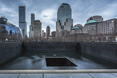 Ground Zero Memorial (cpphotofinish) Tags: cpphotofinish carstenpedersen canondslr canon5dmk3 carst1 nyc manhattan newyork usa highline chelsea canonofficial square tourist yellowcab urban image outdoor outside photo panoramic panorama sky street streetphoto dslr day daylight foto farger light canon canonredlable color canonef colour clouds bilde blue ef1740mmf4lusm