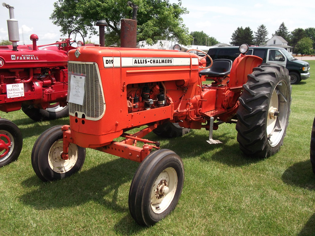 Indiana white county chalmers - 1962 Allis Chalmers D 19 Tractor Cjp02 Tags Classic Tractor Show Summer