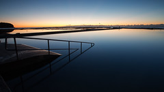 Blue Hour at  North Narrabeen (RoosterMan64) Tags: australia bluehour landscape nsw northnarrabeen northernbeaches oceanpool reflection