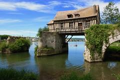 Le vieux moulin (Jean Paul Renais) Tags: france verno pont maison colombage