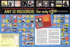 1970 Columbia Record Club's 15th Anniversary - Free Transistor Radio (Tom Simpson) Tags: columbiarecordclub recordclub 1970 1970s vintage ad ads advertising advertisement vintagead vintageads music