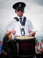 Twelfth of July, 2017 (Bessy Bumblebee) Tags: cullybackey coantrim northernireland uk twelfth july summer marching season orange order orangemen orangeism orangeorder drum portrait drumming