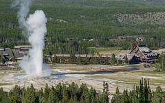 Old Faithful (browtine1) Tags: national park wyoming yellowstone old faithful geyser