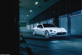 Maserati Gran Turismo for Avant Garde Wheels
