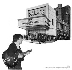 Bill Wyman Palace Theater (albany group archive) Tags: albany ny history rolling stones concert palace theater 1965 wtry bill wyman 1960s radio old vintage photo photograph picture historic historical
