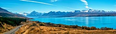 The road to mount cook (jamesfultonphotography) Tags: lakepukaki mountcook newzealand aoraki southisland canterbury