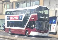 Lothian Buses 455 SJ66 LPV (05.06.2017) (CYule Buses) Tags: sj66lpv service25 wrighteclipsegemini3 transportforedinburgh lothianbuses 455