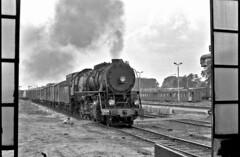 Yankee imperialist (Bingley Hall) Tags: rail railway railroad transport train transportation trainspotting locomotive engine steam poland europe pkp 2100 freight torun ty246 usa