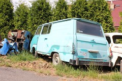 Skoda 1203 Taz (MilanWH) Tags: autovrakoviště scrapyard czech rust épave skoda van 1203 taz