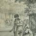 MONNET Charles - La Promenade (drawing, dessin, disegno-Louvre RF34443) - Detail 39
