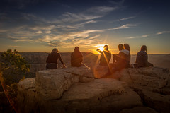 Grand Canyon Sunset (joseph_donnelly) Tags: grandcanyon grand canyon us usa intrepid sun sunset pizza