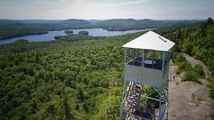 Rondaxe Fire tower-Adirondacks (Daniel Piraino) Tags: adk adirondacks adirondack aerial drone aerialphotography dronephotography dronestagram ispyny