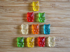 2017 Sydney: Gummy Bears (dominotic) Tags: 2017 food lolly candy confectionery sweets gummibears gummybears sydney australia