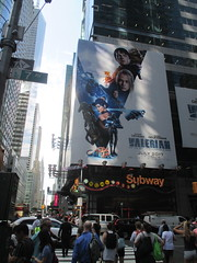 Valerian and the City of a Thousand Planets Billboard Poster 7424 (Brechtbug) Tags: valerian city thousand planets billboard poster times square nyc 2017 french science fiction comics series from 1967 valérian laureline written by pierre christin illustrated jeanclaude mézières film movie directed luc besson new york 06212017