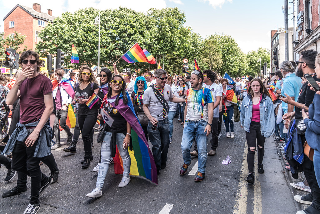 LGBTQ+ PRIDE PARADE 2017 [ON THE WAY FROM STEPHENS GREEN TO SMITHFIELD]-130006