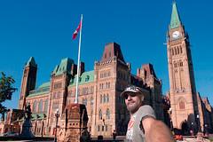 Refugee Selfie (The.Mickster) Tags: self wideangle portrait fisheye parliamenthill randy canada hereios 365