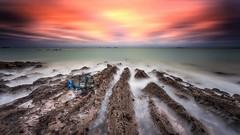 Lanruen beach (Ludovic Lagadec) Tags: erquy longexposure bretagne breizh brittany france cotesdarmor paysage landscape ludoviclagadec seascape sea sky sunset marin mer manche