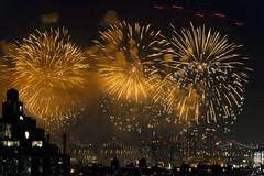 4th of July 2017 Macy's Fireworks-88 (Diacritical) Tags: brooklyn nycmacys nikond4 pattern 70200mmf28 30secatf71 july42017 85223pm f71 195mm 4thofjuly fireworks macysfireworks nyc night skyline
