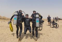 19 16a (KnyazevDA) Tags: diver disability disabled diving undersea padi paraplegia paraplegic amputee egypt handicapped wheelchair aowd sea travel scuba underwater redsea