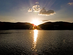 Tramonto (snorky_x) Tags: piediluco umbria tramonto sunset landscape water lake sky clouds sun