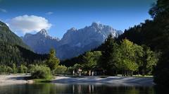 Kranjska Gora - Lake Janska, Prisojnik Mt. (Libor59) Tags: slovenia kranjskagora mountain lake nikonflickraward