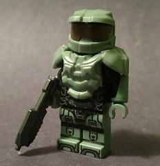 The Master Chief (lordbrick) Tags: halo masterchief spartan videogame
