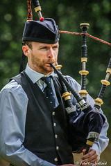 Solo Piper (FotoFling Scotland) Tags: lochlomond piper bagpipe beard highlandgames lussgathering lusshighlandgames male fotoflingscotland