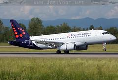 EI-FWF (Joel@BSL) Tags: sukhoi superjet basel mulhouse brussels airlines brusselsairlines sabena bline eifwf eap bsl mlh
