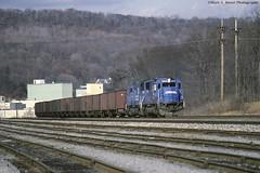 CR6826_Lewistown_1291-01 (mswphoto44) Tags: conrail coal hopper locomotive sd50 track rail