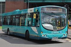Arriva Derby Scania K230UB/Wright Solar 3513 (YR59 NNT) (Derby) (john-s-91) Tags: arriva arrivaderby scaniak230ub wrightsolar 3513 yr59nnt derby derbyroute20