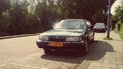 1990 Rover 827 Vitesse (NielsdeWit) Tags: yy45nh rover 800 827 favourite nielsdewit rotterdam vitesse hillegersberg hatchback