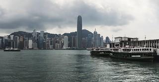 Overcast Hong Kong