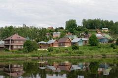 Plyos 03 (mpetr1960) Tags: plyos russia town fisherman fishing vilage reflection trees river water nikon d810