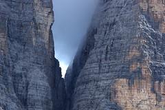 Dolomiti (kmclaudio) Tags: pentaxart dolomiti trentino nuvola nebbia montagna aria allaperto roccia luce