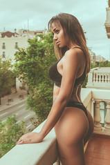 Flo (rubenfcid) Tags: girl lady woman pretty sexy beautiful hot elegant glamour sensual tight beauty boudoir lingerie ass butt legs boobs breasts tits booty darkskin blackwoman black blackgirl blackskin calvinklein thong underwear