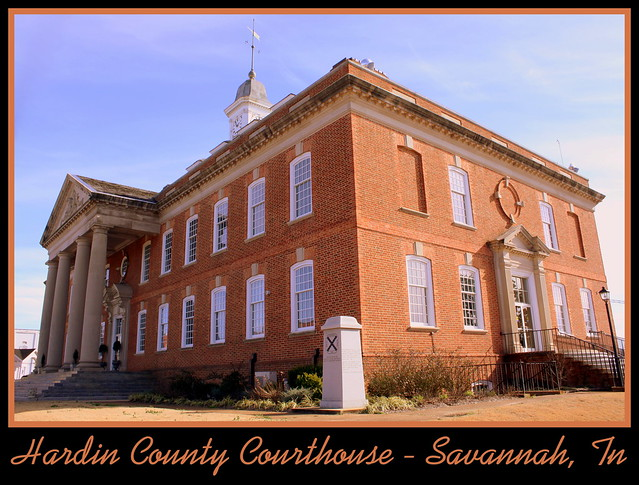 Hardin County Courthouse - Savannah, TN