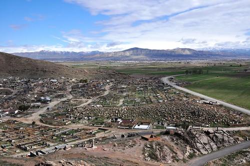 Khor Virap (Armenia). Cementeri al pie del Monasterio