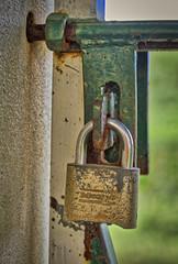 Lock on the Gate (ronmcmanus1) Tags: antigua hdr outdoors stilllife jollyharbour stmarysparish antiguabarbuda