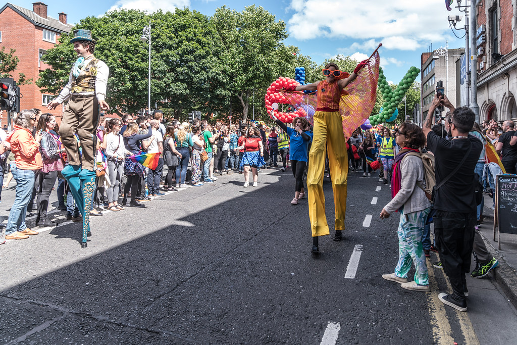 LGBTQ+ PRIDE PARADE 2017 [ON THE WAY FROM STEPHENS GREEN TO SMITHFIELD]-130132