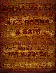 A Glimpse Into the Past (Kościuszko) Tags: upperwestside amsterdamave amsterdamavenue west83rdstreet formerlyadump badolddaysorgoodolddays uws brick bricks signage faded oldnyc oldnewyork newyorkcity nyc nycfeelings nycrooftops nycphotography manhattan apartments building gone goneforever texture pattern wall brickbuilding sony tamron sittingonmyroof