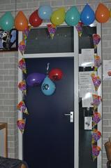 Verjaardag Juf van Eck loevestein 001